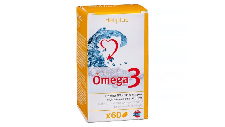Cápsulas Deliplus Omega 3 del Mercadona