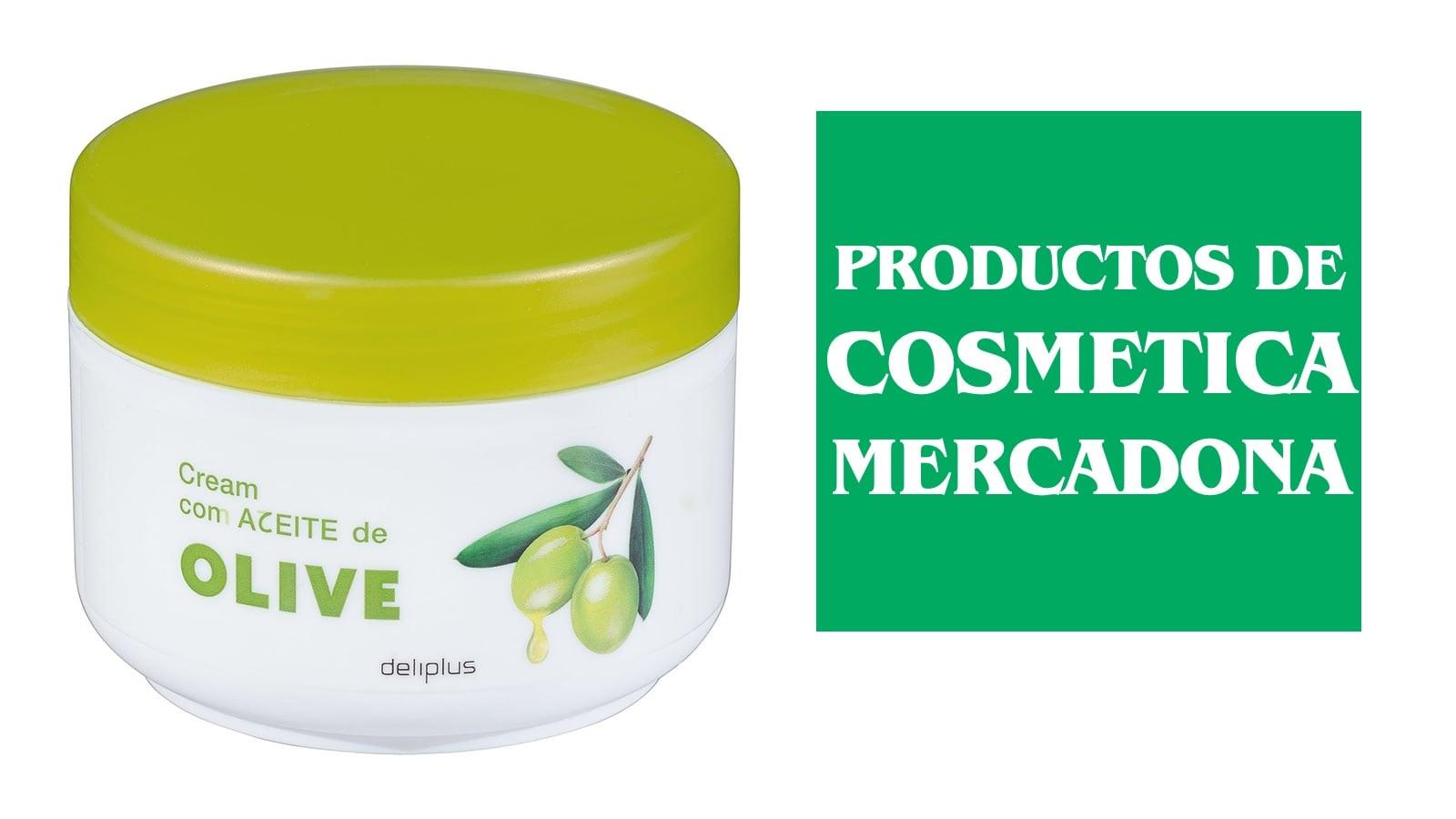 Productos de cosmética del Mercadona