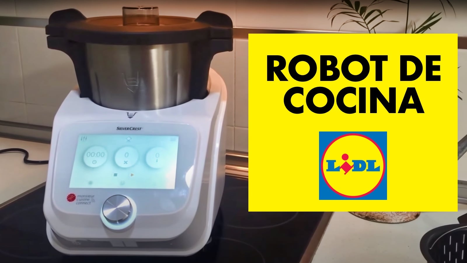 Robot de Cocina del Lidl SilverCrest Monsieur Cuisine