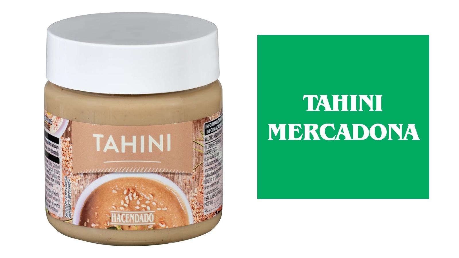 Tahini del Mercadona